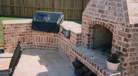 Brick Grill1 How to Build a Brick Grill