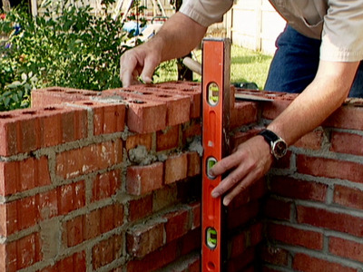 Brick Grill2 How to Build a Brick Grill