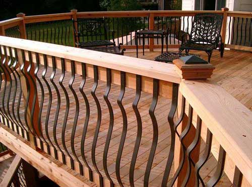 Deck Railings 1 How to Build Deck Railings