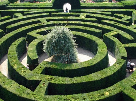Garden Maze 1 How to Build a Garden Maze