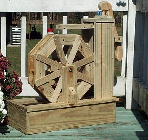 Water Wheel Pump How to Build a Water Wheel Pump