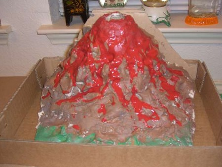 Build a Volcano How to Build a Volcano