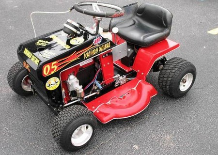 Racing Lawnmower1 How to Build a Racing Lawnmower