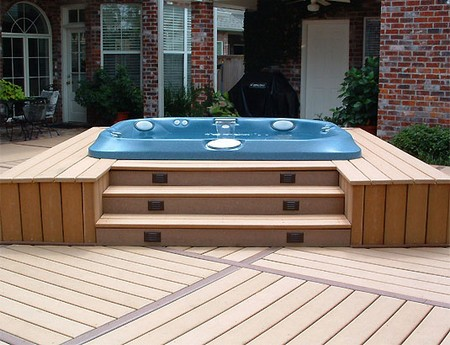 Spa Deck How to Build a Spa Deck