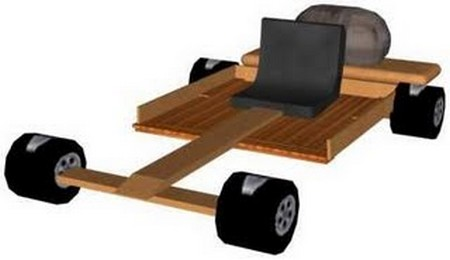Wooden Go Kart 1 How to Build a Wooden Go Kart
